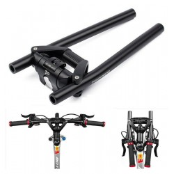 Folding handlebar for scooters