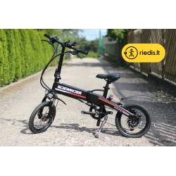 """Sulankstomas elektrinis dviratis X16 (16"""")"""